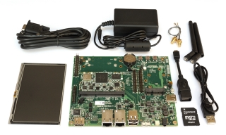 CompuLab CL-SOM-iMX7 Evaluation Kit