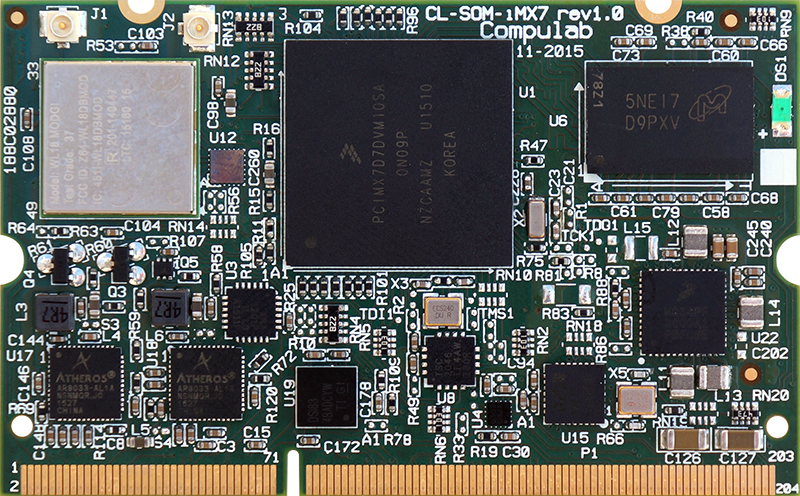 CL-SOM-iMX7 | NXP (Freescale) i MX 7 | System-on-Module