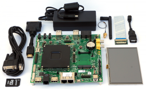 CompuLab CM-FX6 (Freescale i.MX6) Evaluation Kit