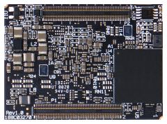 UCM-iMX8M-Mini - NXP i.MX8M Mini System-on-Module bottom view